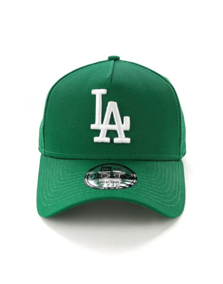 san francisco 725b5 fc1dd New Era Los Angeles Dodgers CK 9FORTY A-Frame Snapback Emerald Green