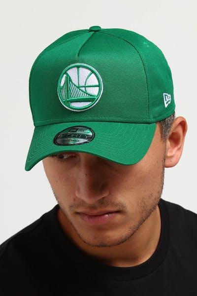 2735be80a New Era Golden State Warriors CK 9FORTY A-Frame Snapback Emerald Green ...