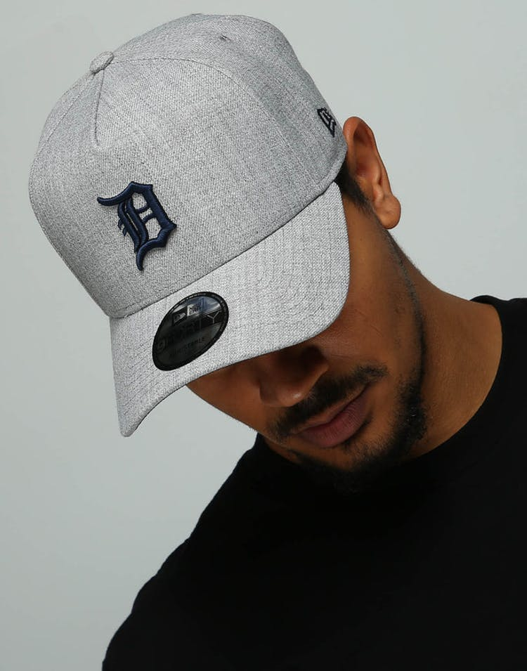fbb397f7 New Era Detroit Tigers 9FORTY A-Frame Snapback Heather Grey/Navy – Culture  Kings