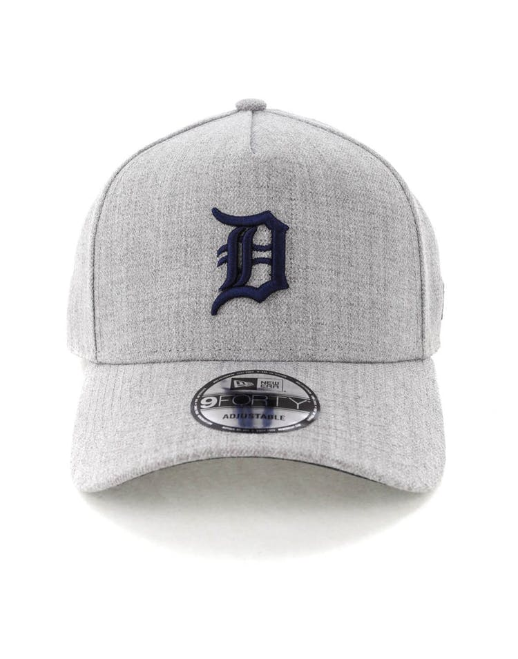 fd8c46c2 New Era Detroit Tigers 9FORTY A-Frame Snapback Heather Grey/Navy ...
