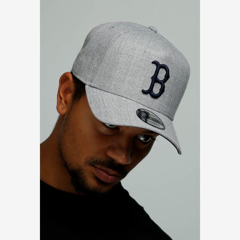 b2b01e1985c New Era Boston Red Sox 9FORTY A-Frame Snapback Heather Grey Navy – Culture  Kings