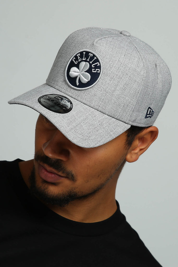 31fb68382f5 ... france new era boston celtics 9forty a frame snapback heather grey navy  culture kings 8859d 8dd17