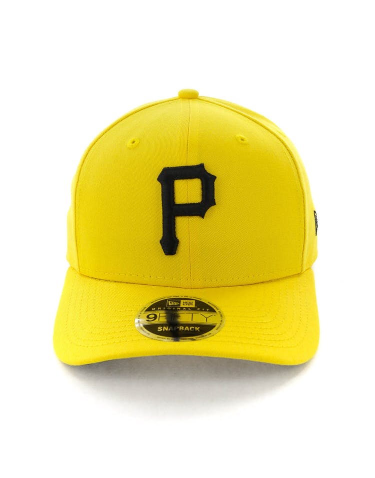 d60789a01 New Era Pittsburgh Pirates 9FIFTY Original Fit Precurved Snapback  Yellow/Black