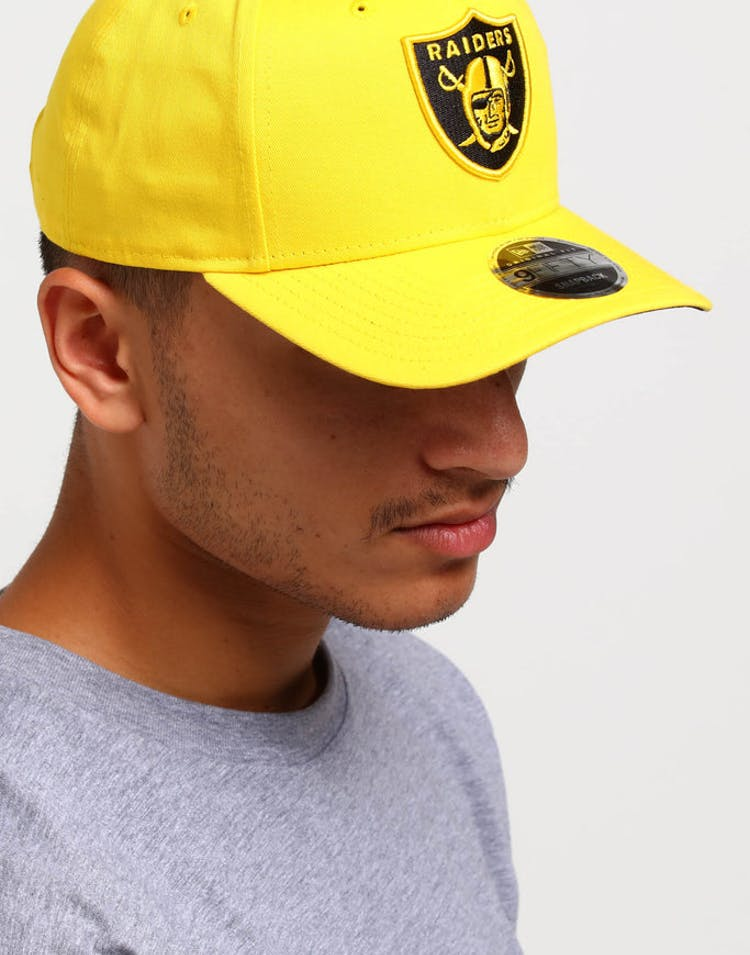 best sneakers bc0a8 3f7be New Era Raiders 9FIFTY Original Fit Precurved Snapback Yellow Black – Culture  Kings