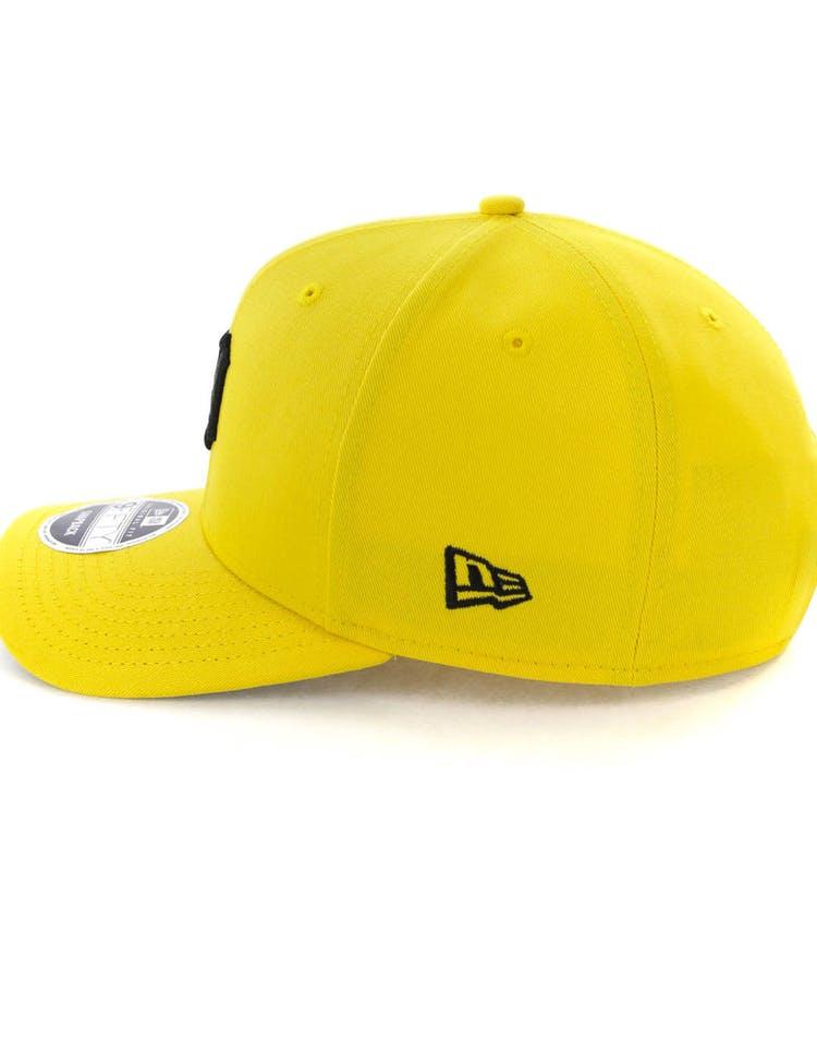 new concept e1312 e8d2e New Era Detroit Tigers 9FIFTY Original Fit Precurved Snapback Yellow Black