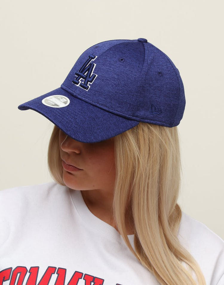 New Era Women's Los Angeles Dodgers 9FORTY Cloth Buckle Strapback Dark Royal