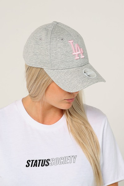 New Era Women's Los Angeles Dodgers 9FORTY CL Strapback Heather Grey