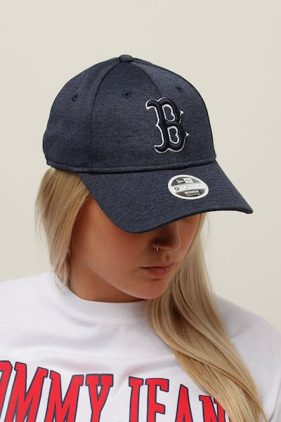 2ce79ca7f07 New Era Women s Boston Red Sox 9FORTY Cloth Buckle Strapback Navy