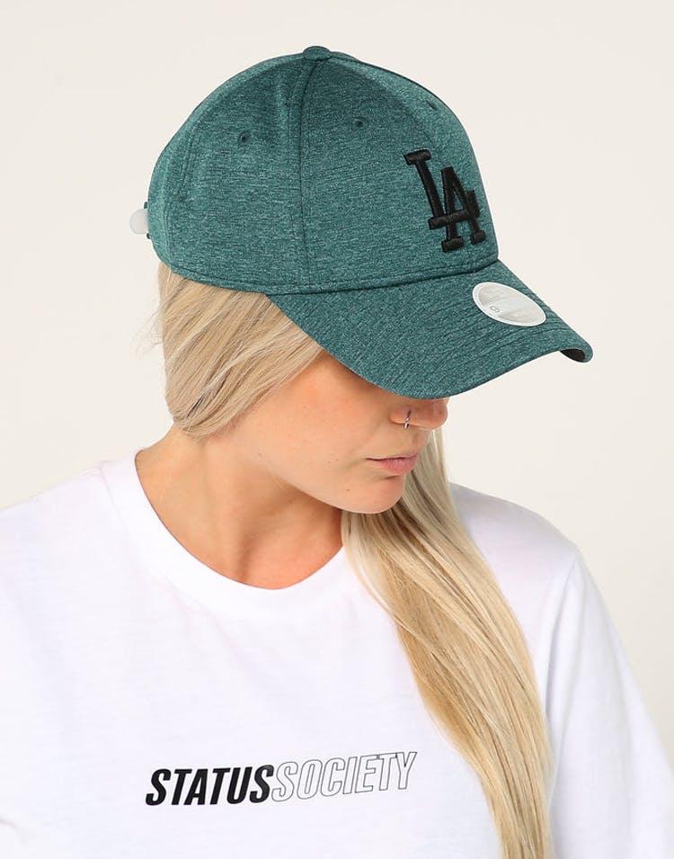 b2fff7776 New Era Women's Los Angeles Dodgers 9FORTY Tech Hook N Loop Green