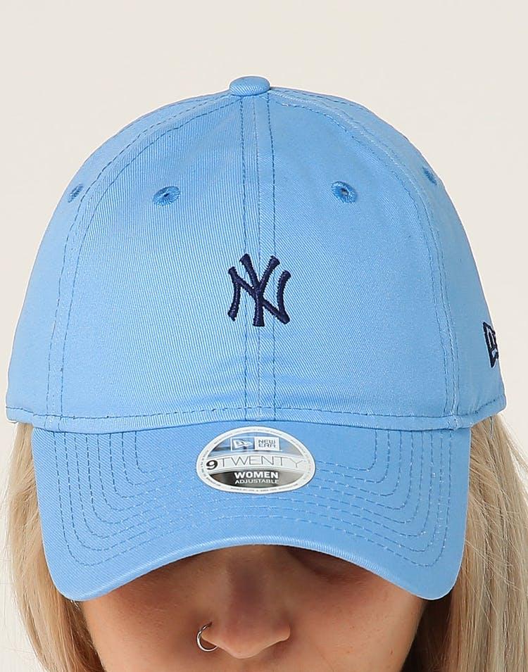 timeless design 46839 0263f New Era Women s New York Yankees 9TWENTY Cloth Strapback Sky Blue