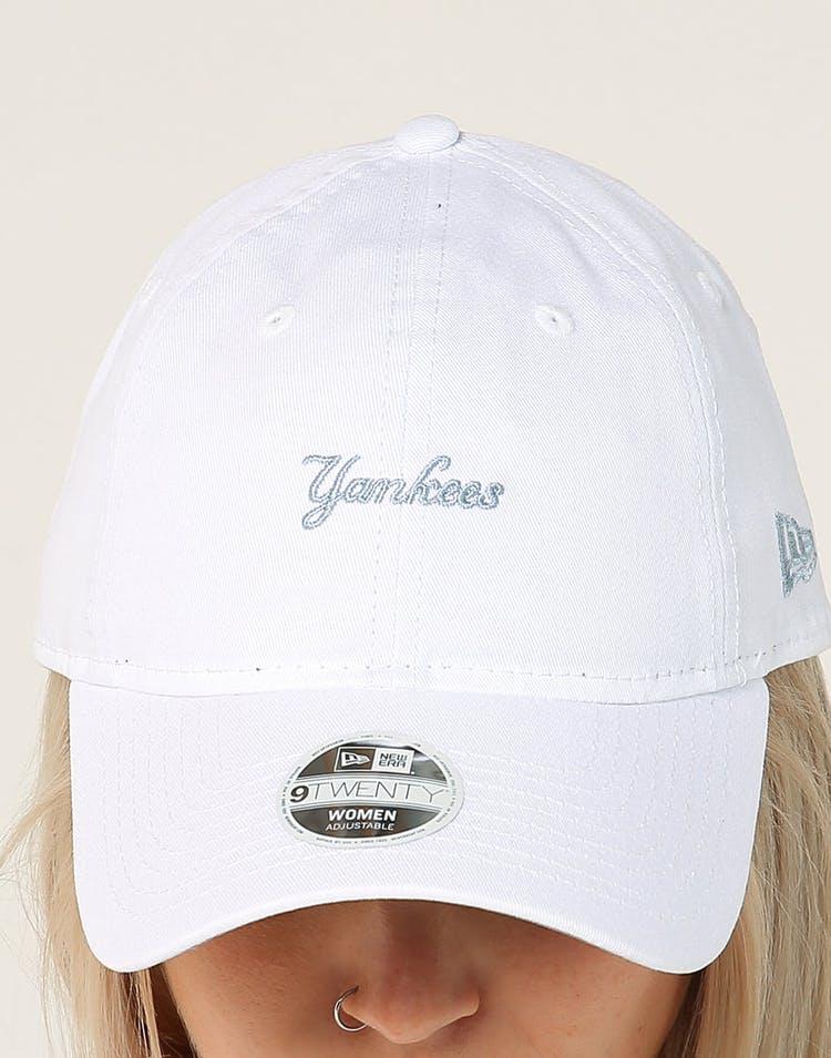 buy online 1be1f ef205 New Era Women s New York Yankees 9TWENTY Cloth Strapback White