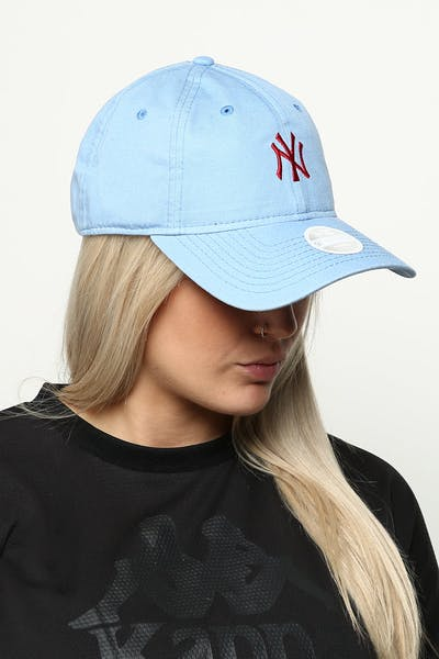 451912ab73576 New Era Women s New York Yankees 9TWENTY Cloth Buckle Strapback Blue