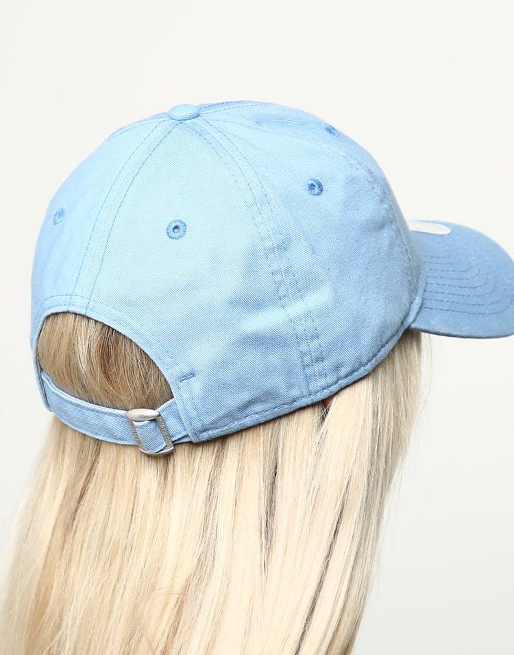 save off d5729 ac8c5 New Era Women s New York Yankees 9TWENTY Cloth Buckle Strapback Blue