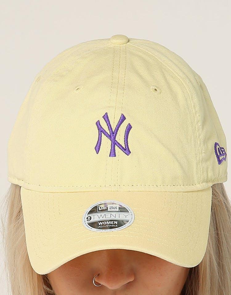 size 40 d3847 4ed36 New Era Women s New York Yankees 9TWENTY Cloth Strapback Yellow Purple
