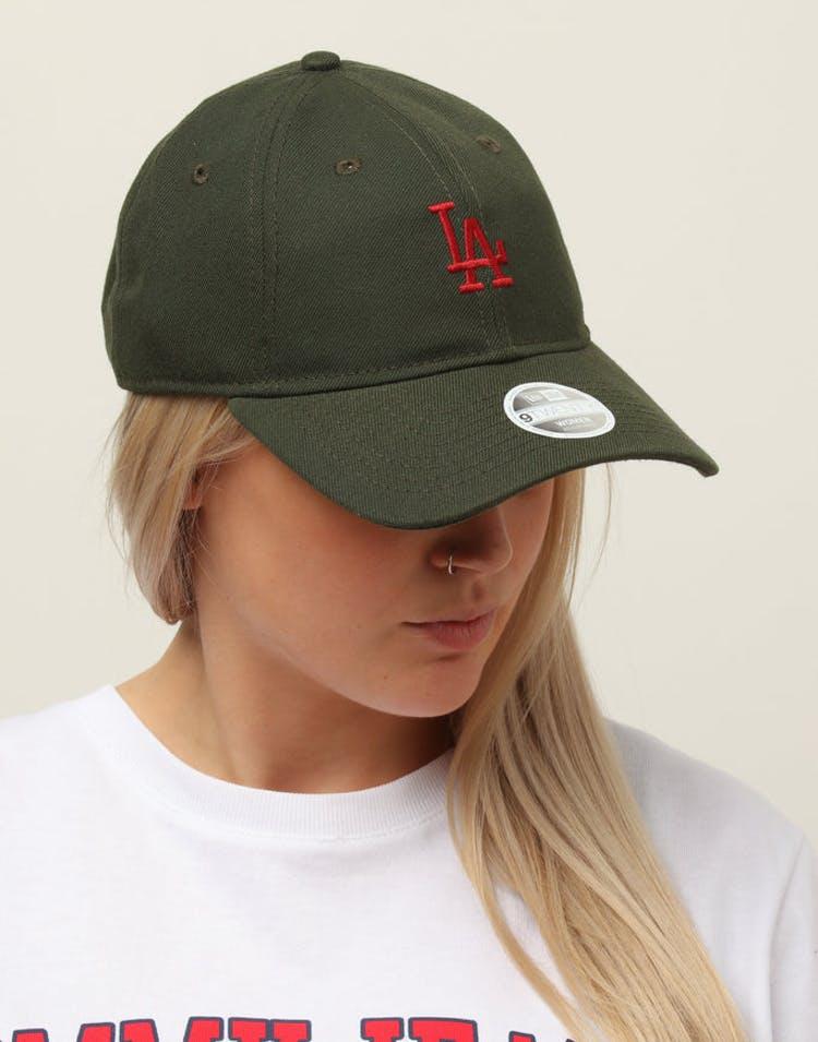 huge selection of 502d2 98a86 New Era Women s Los Angeles Dodgers 9TWENTY Cloth Buckle Strapback Dar –  Culture Kings