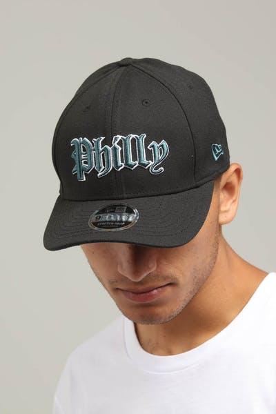 online retailer 83ebe 0a8b6 New Era Philadelphia Eagles 9FIFTY Stretch Snapback Dark Green