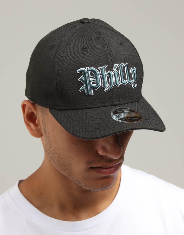 online retailer be300 5470d New Era Philadelphia Eagles 9FIFTY Stretch Snapback Dark Green