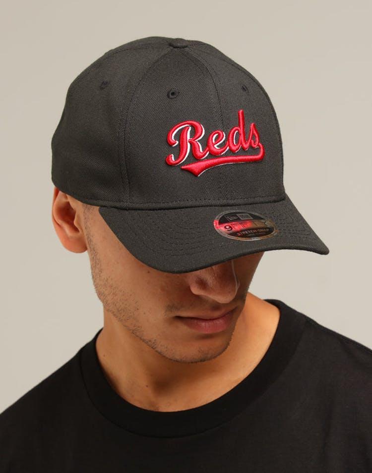 b9995097050df New Era Cincinnati Reds 9FIFTY Stretch Snapback Black – Culture Kings