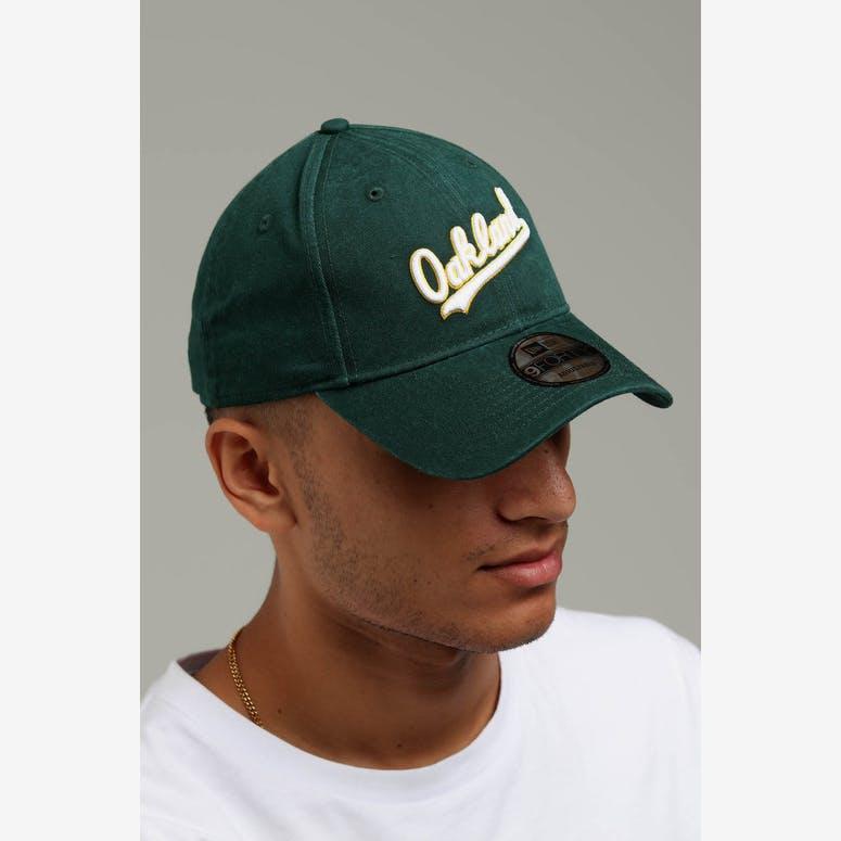 e7da15bb29e New Era Oakland Athletics Coop 9FORTY Cloth Buckle Strapback Dark Gree – Culture  Kings