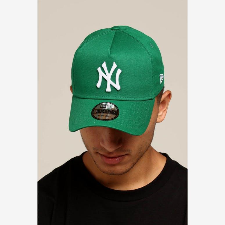 742c5831b77d3 New Era New York Yankees 9FORTY A-Frame Snapback Kelly Green – Culture Kings