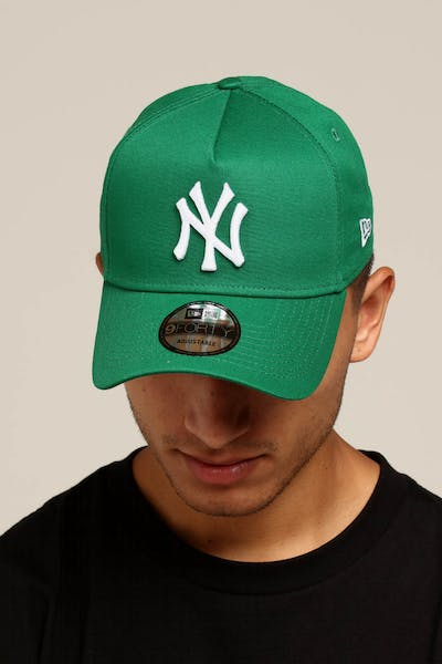 New Era New York Yankees 9FORTY A-Frame Snapback Kelly Green