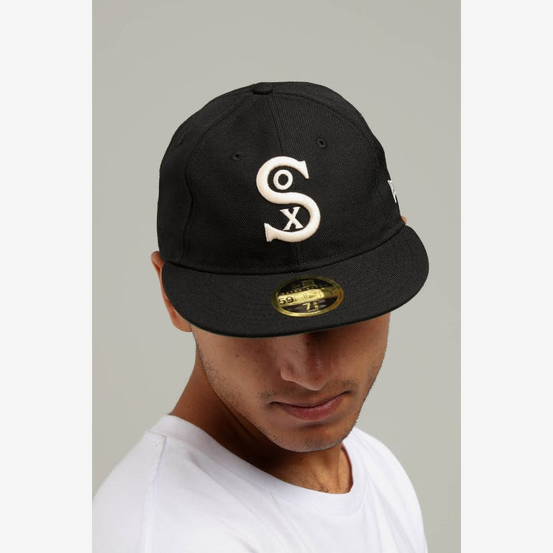 New Era Chicago White Sox Coop 59FIFTY Retro Crown Fitted Black Tan –  Culture Kings 00f06c39fc4