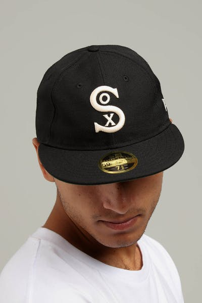New Era Chicago White Sox Coop 59FIFTY Retro Crown Fitted Black/Tan