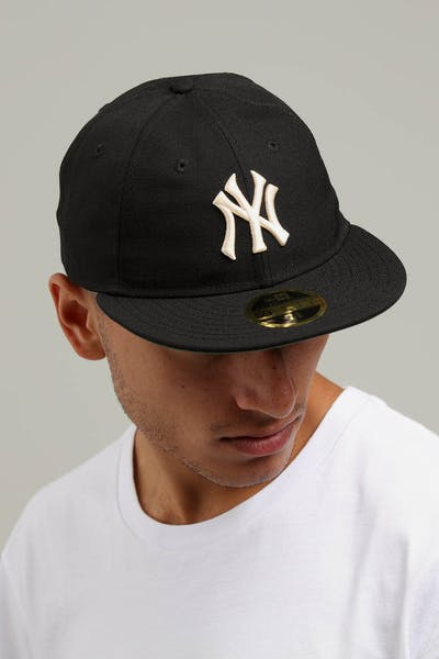 New Era New York Yankees Coop 59FIFTY Retro Crown Fitted Black/Tan