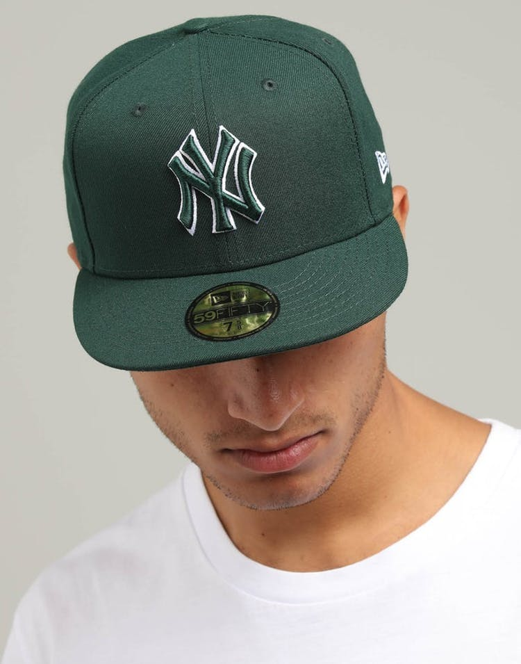 san francisco 1896b aaf08 New Era New York Yankees 59FIFTY Fitted Dark Green