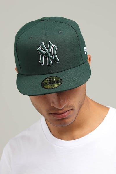 199a01347cd New Era New York Yankees 59FIFTY Fitted Dark Green
