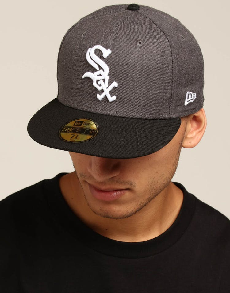 sports shoes 9db7c 0e167 New Era Chicago White Sox 59FIFTY Fitted Graphite Heather – Culture Kings