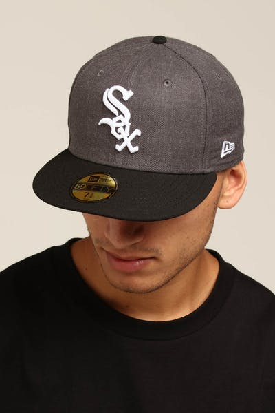 bba5cd3ce60 New Era Chicago White Sox 59FIFTY Fitted Graphite Heather