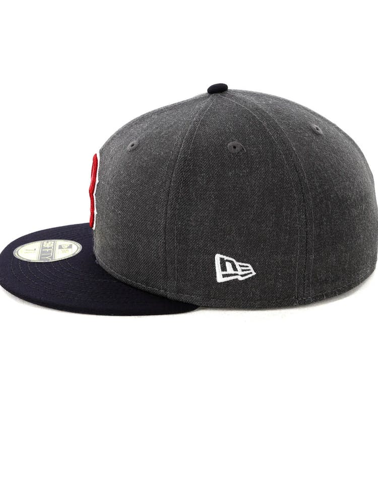wholesale dealer 33c6a 4b0da New Era Boston Red Sox 59FIFTY Fitted Graphite Heather