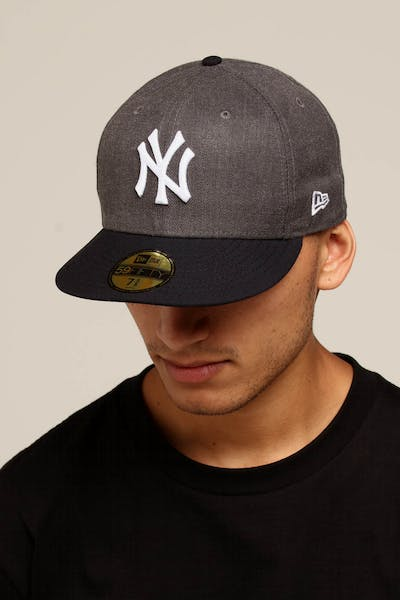 sale retailer ec17a 4ca5b New Era New York Yankees 59FIFTY Fitted Graphite Heather