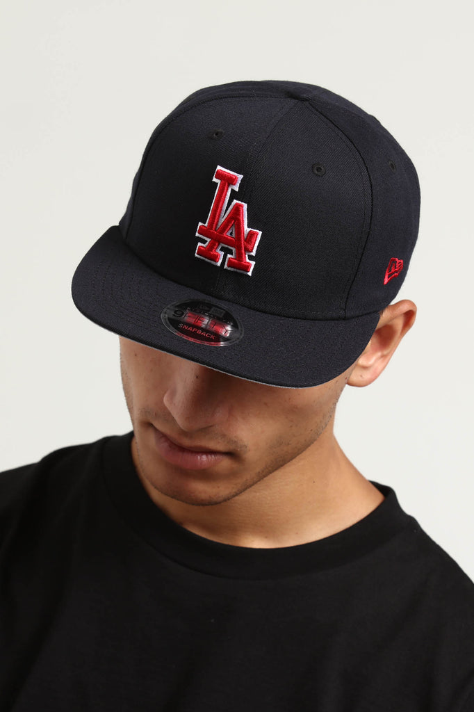 check out 24b16 16dfa coupon code for new era los angeles dodgers 9fifty original fit snapback  navy red cea5a b222a