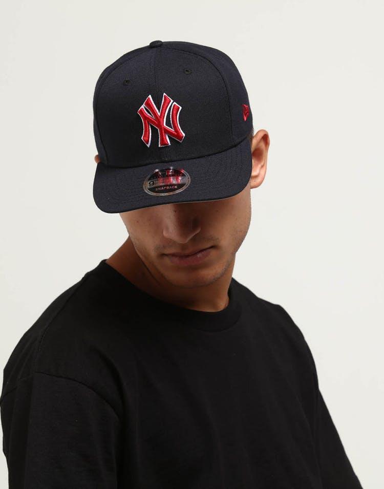 8b33a0910 New Era New York Yankees 9FIFTY Original Fit Snapback Navy/Red