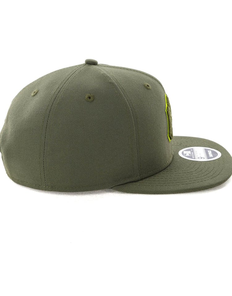 2c8565f5 New Era New York Yankees 9FIFTY Original Fit Olive/Lime – Culture Kings