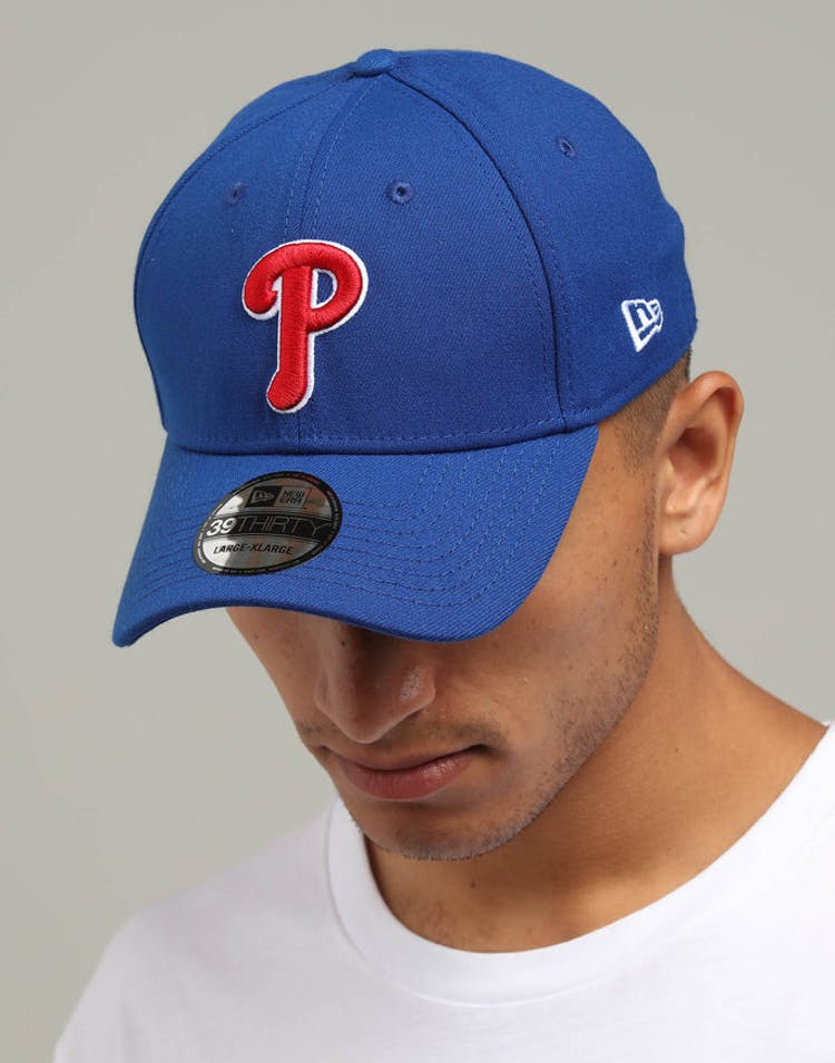 new arrival e2259 ce830 New Era Philadelphia Phillies 39THIRTY Stretchfit Blue Red – Culture Kings