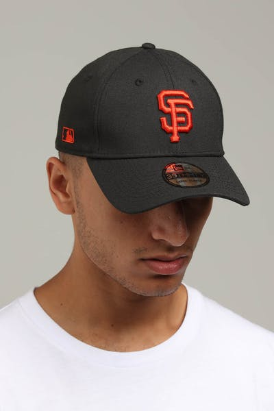 6f6ff0617ba New Era San Francisco Giants 39THIRTY Stretchfit Black Red