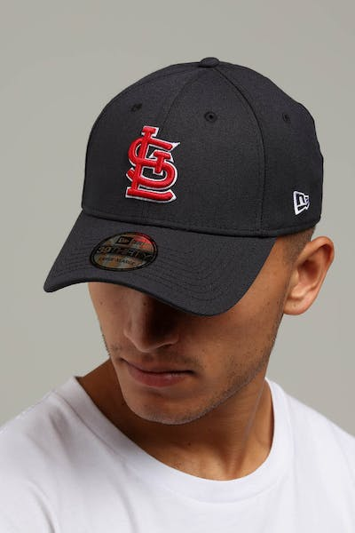 New Era St. Louis Cardinals 39THIRTY Stretchfit Navy Red 3f10b9274bc2
