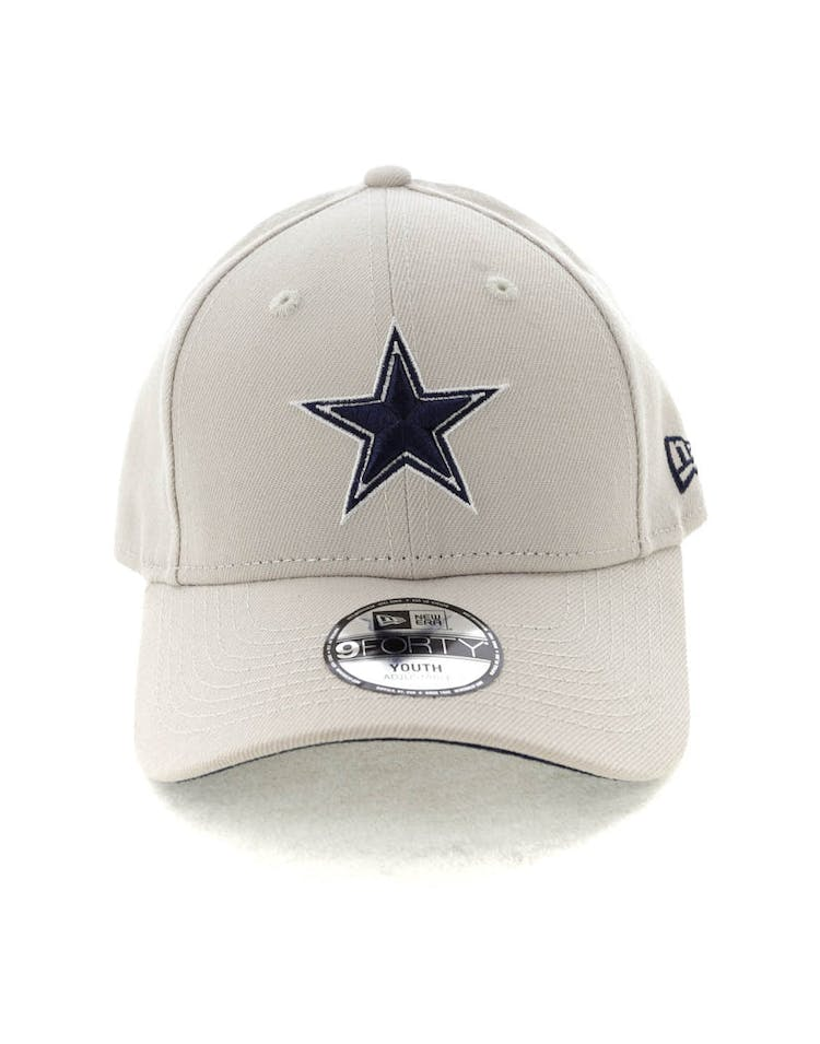 73034bb3 New Era Youth Dallas Cowboys 9FORTY HookNLoop Stone