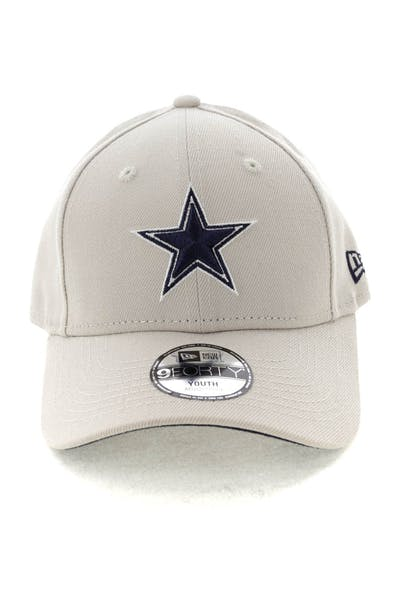 New Era Youth Dallas Cowboys 9FORTY HookNLoop Stone