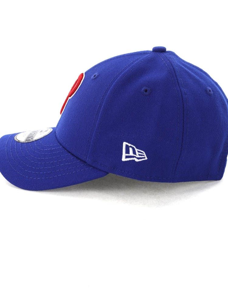 buy online 7bfe0 77f48 New Era Youth Philadelphia Phillies 9FORTY Hook N Loop Blue