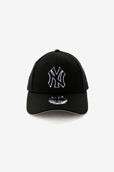 50beecbefe5 New Era Kids New York Yankees 9FORTY Strapback Black