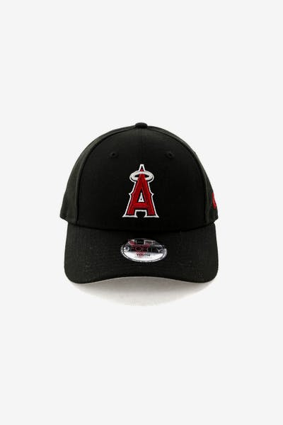 New Era Kids Los Angeles Angels 9FORTY Strapback Black