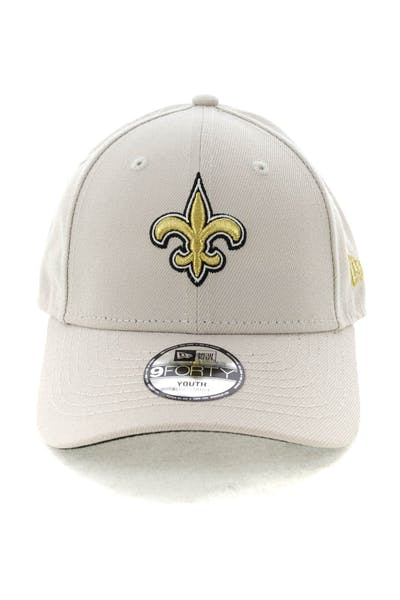 New Era Youth New Orleans Saints 9FORTY HookNLoop Stone