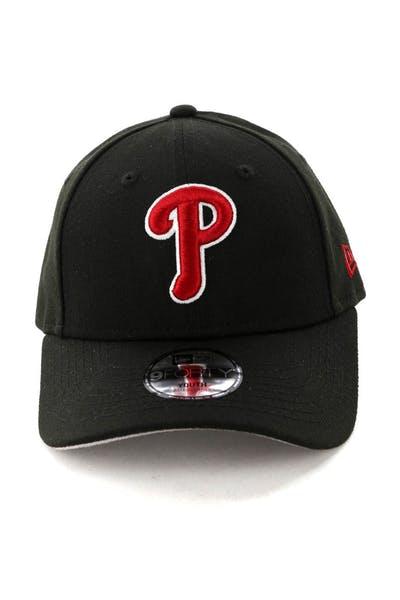ec8dd8c2bdf79 New Era Kids Philadelphia Phillies 9FORTY Strapback Black