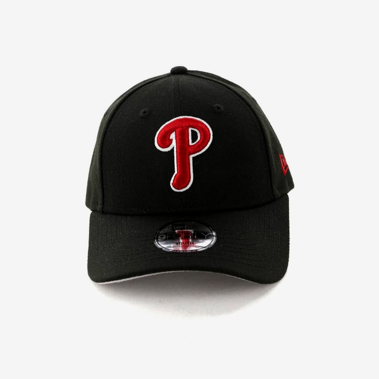 New Era Kids Philadelphia Phillies 9FORTY Strapback Black