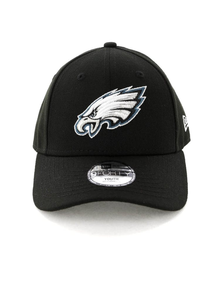 promo code e1306 40663 New Era Philadelphia Eagles 9FORTY Hook N Loop Black – Culture Kings