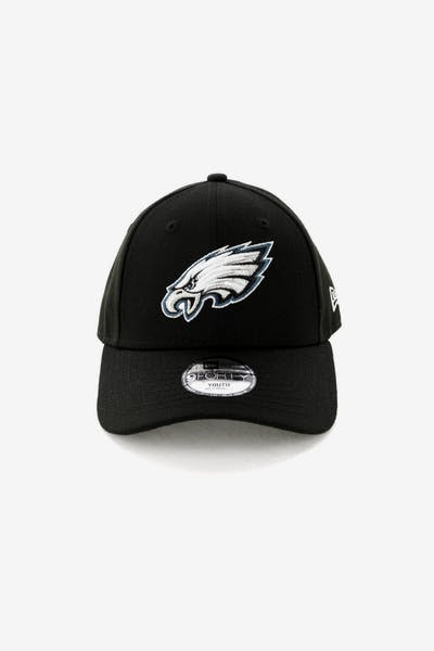 New Era Philadelphia Eagles 9FORTY Hook N Loop Black